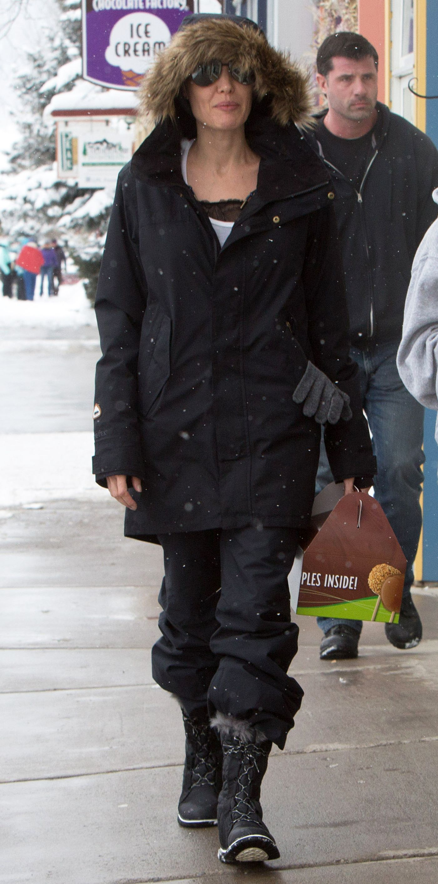 790a8290325 Celebrities Love Their Sorel Boots - Angelina Jolie from InStyle.com
