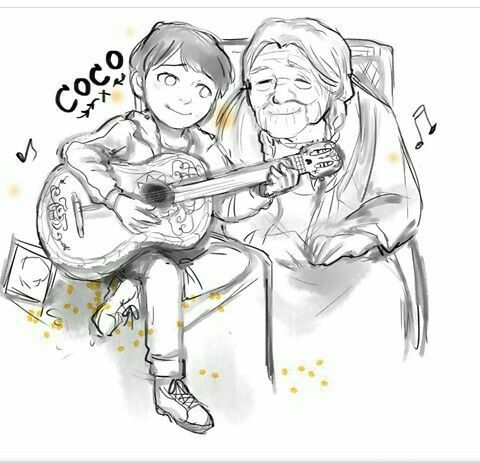 Image result for coco miguel color page | Disney | Pinterest ...
