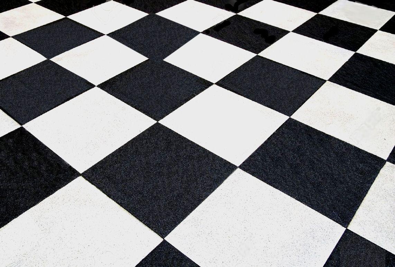 carrelage sol 30x30 jolly blanc et noir