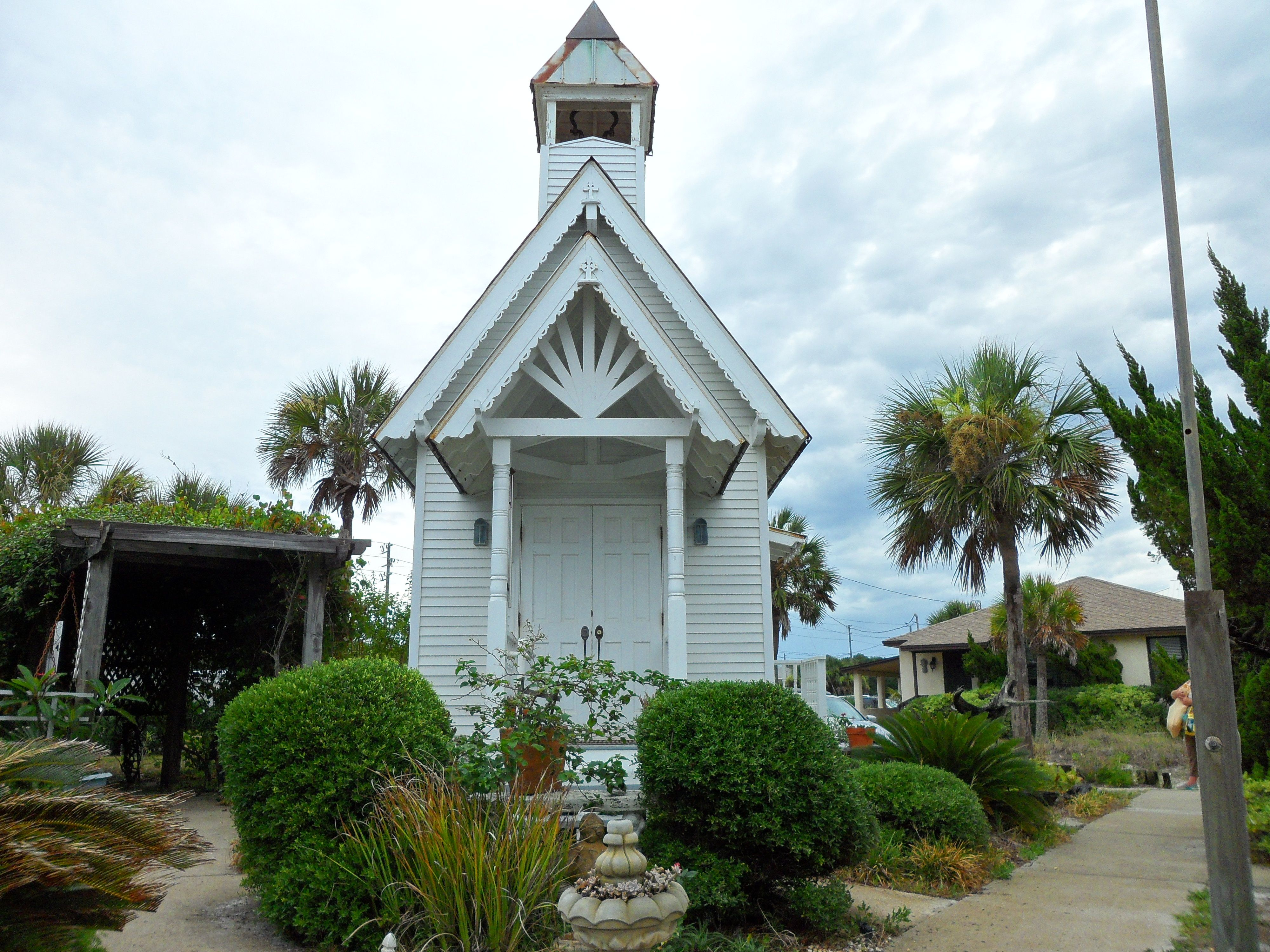 Mexico Beach Fl Wedding Chapel Florida Beaches Apalachicola