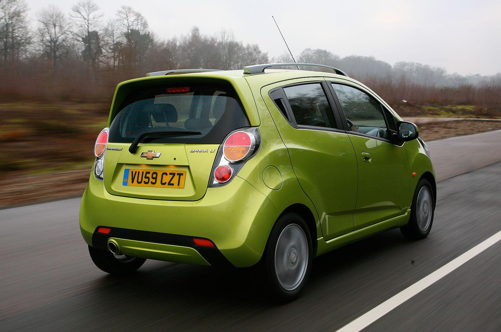 Chevrolet Spark Gas Mileage Car Picture
