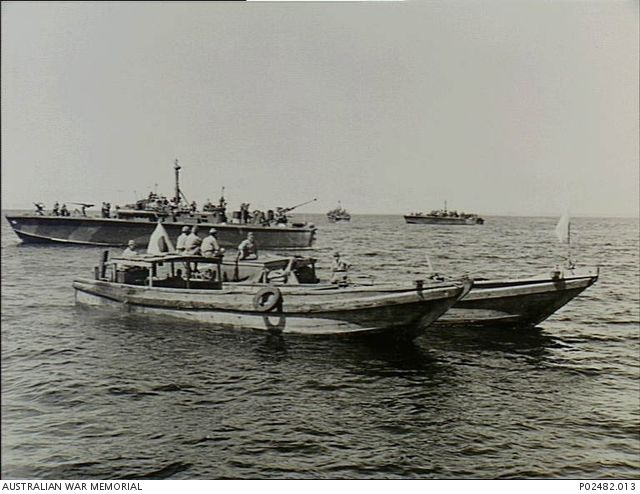 morotai channel netherland east indies 26 august 1945