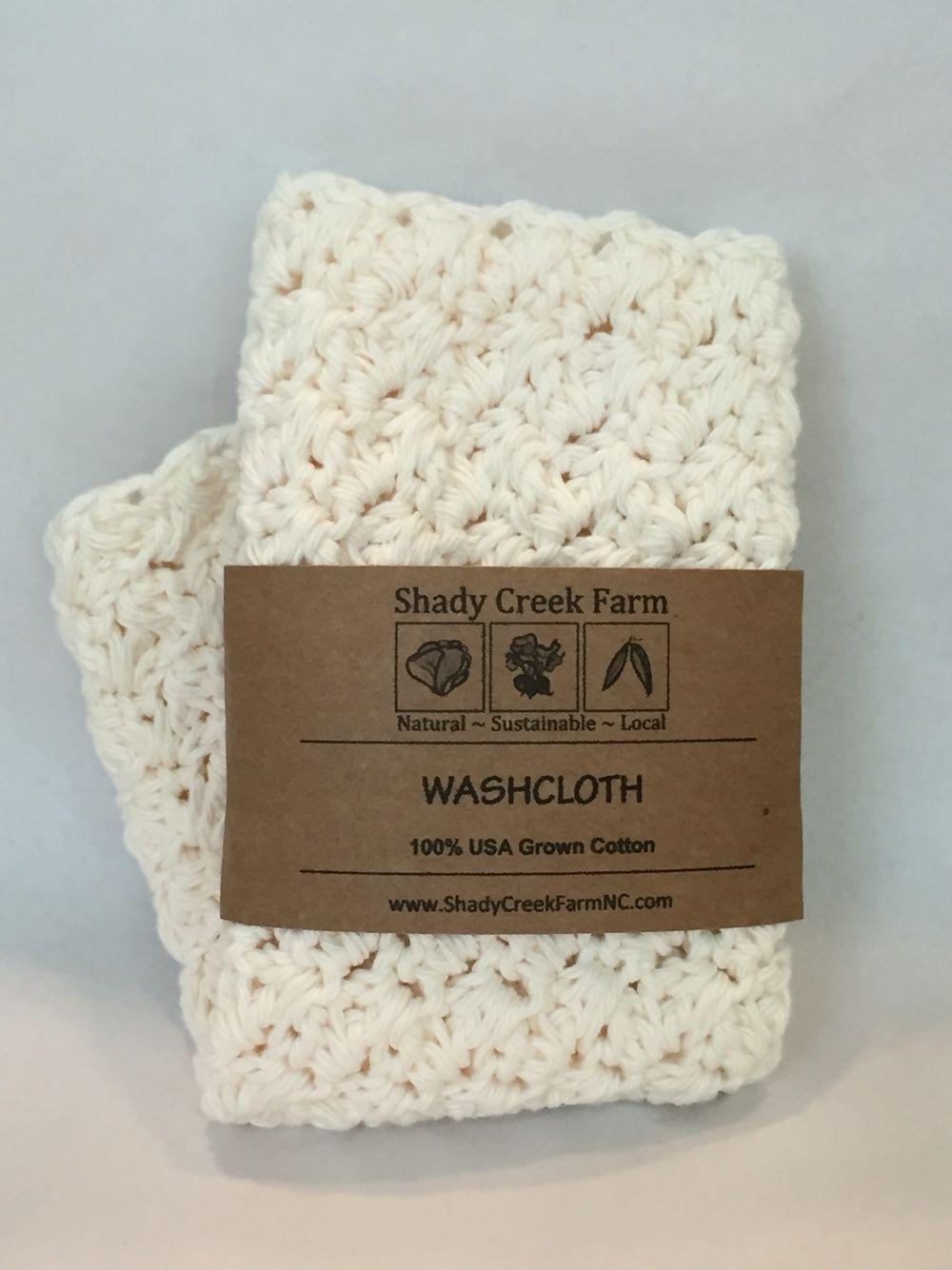 Handmade crochet washcloth from Shady Creek Farms. | June 2016 Cozy ...