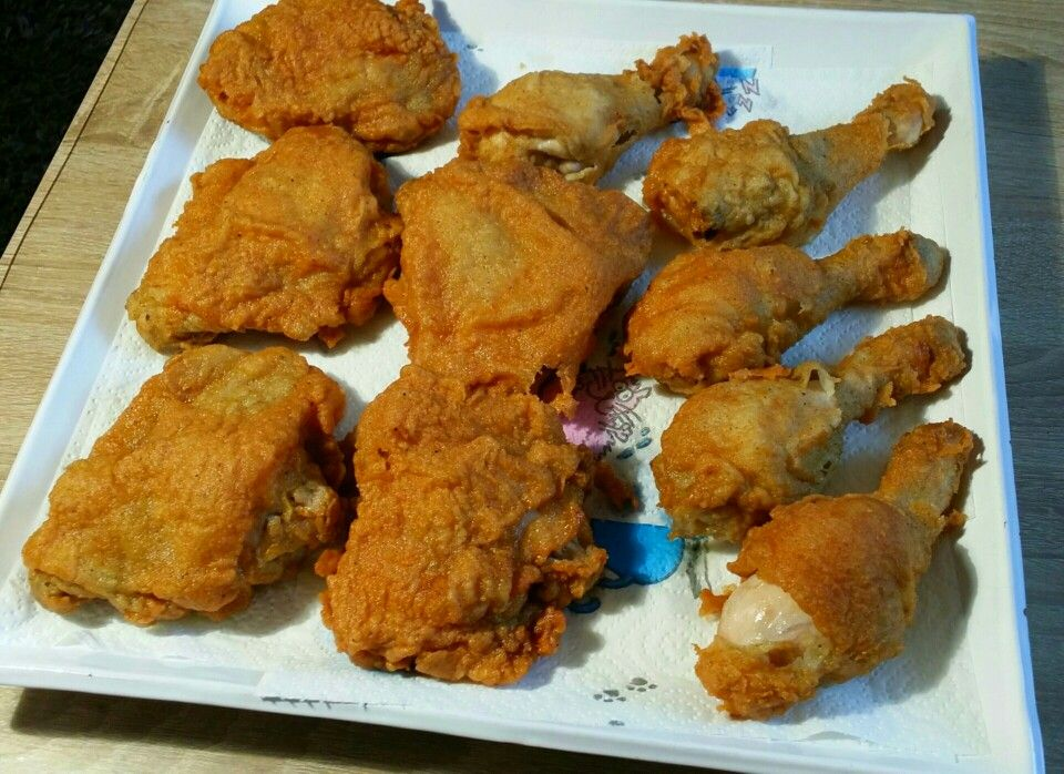 New innovative  recipe from Chef Jinni Laboratory. Fried Chicken Origenal with wonderful Aroma.