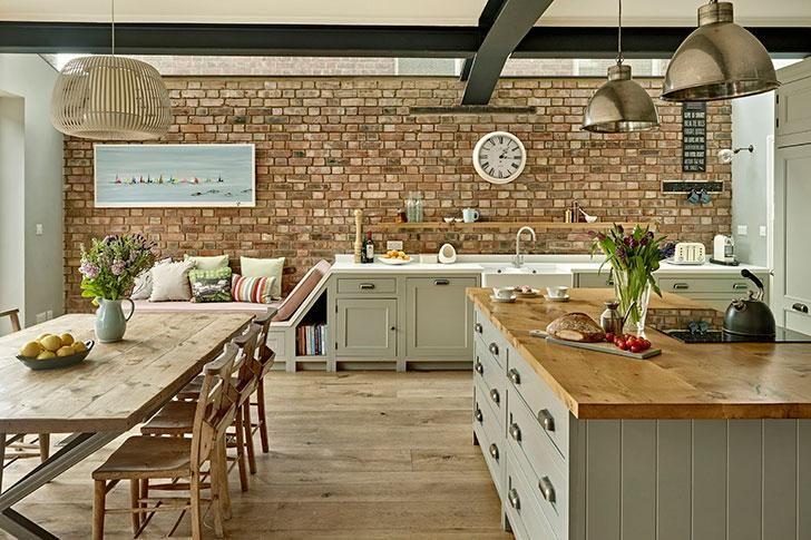 Encantador Ideas Cocina De La Casa Del Reino Unido Viñeta - Ideas ...