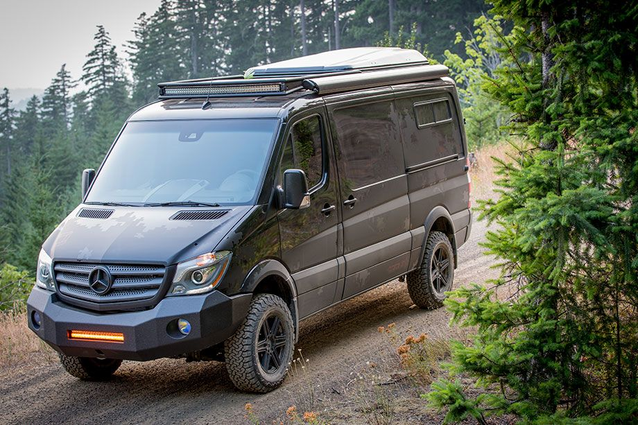 Tactical Versatility Mercedes Benz Spinter Van And 4x4 Ready Our Latest Bug Out Is For Deployment