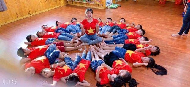 Áo cờ đỏ sao vàng trường mầm non Thành Nhơn - Hình 3