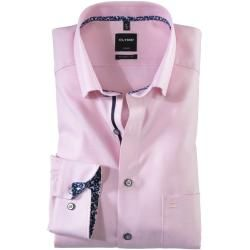 Photo of Olymp Luxor Hemd, modern fit, Under-Button-down, Rosé, 40 Olympolymp