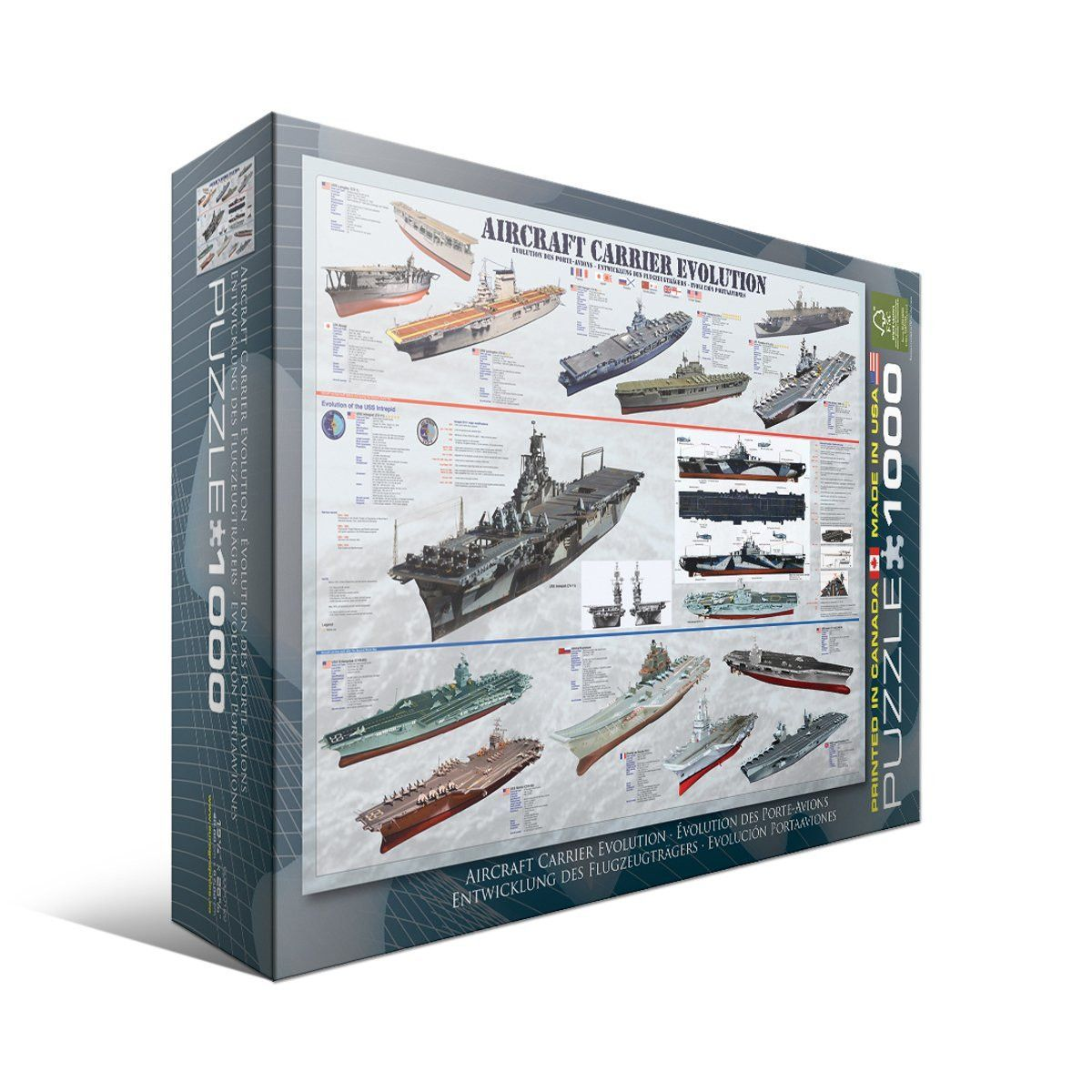 Aircraft Carrier Evolution - 1000pc Puzzle