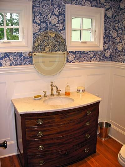 Wainscoting And Wallpaper Images | Amazing Bathroom Wall Paneling Ideas To  Add Pizzazz To The Look Of .