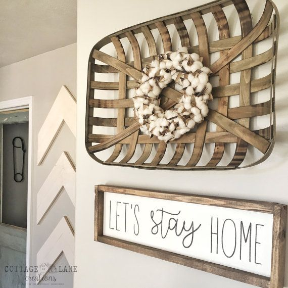 Let S Stay Home Sign Let S Stay Home By Cottagelanecreation