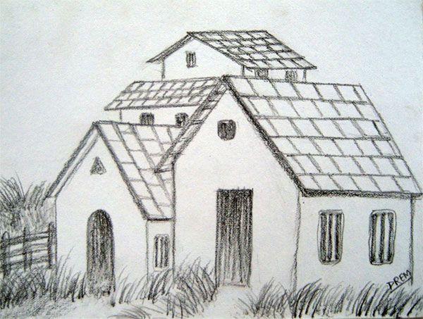 Easy Landscape Drawings Pencil landscape Drawings