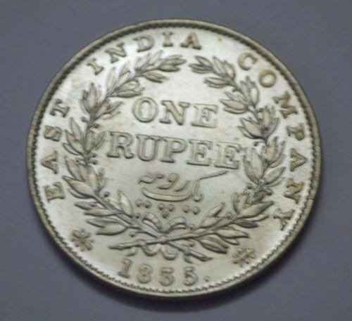 British East India 1 Rupee King William 1835 Silver Coin F Incuse Silver Coin Silver Coins Coins Coinage