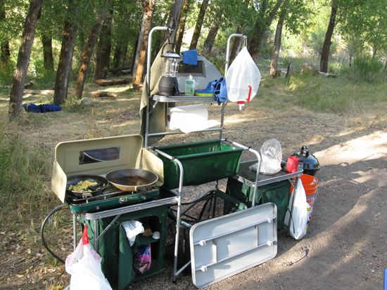 cabelas standard camp kitchen review | outdoor life! | pinterest