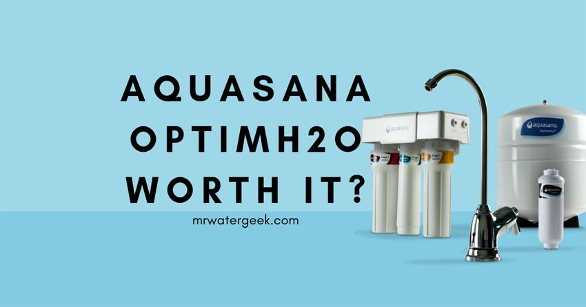 Do Not Buy Until You Read This Aquasana Optimh2o Review Best Water Filter Under Sink Water Filter Healthy Water Drinks