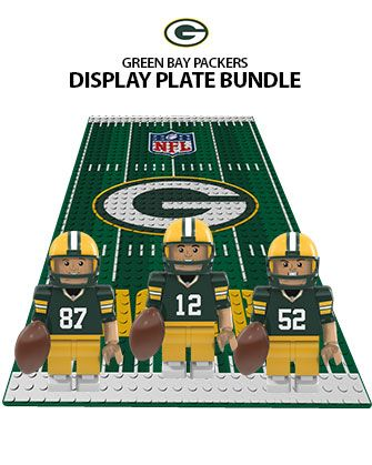 OYO Sports | Green Bay Packers OYO minifigures & Field Sets | Lego ...