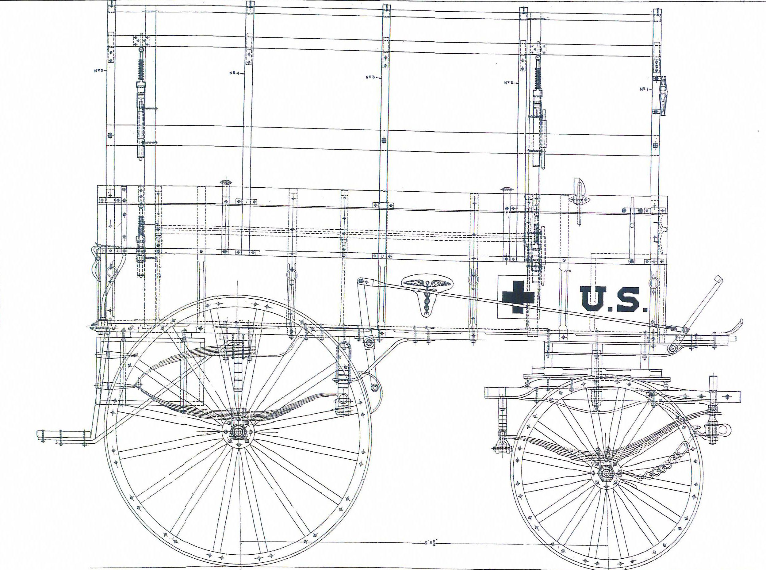 Horse Drawn Wagon Parts Diagram In