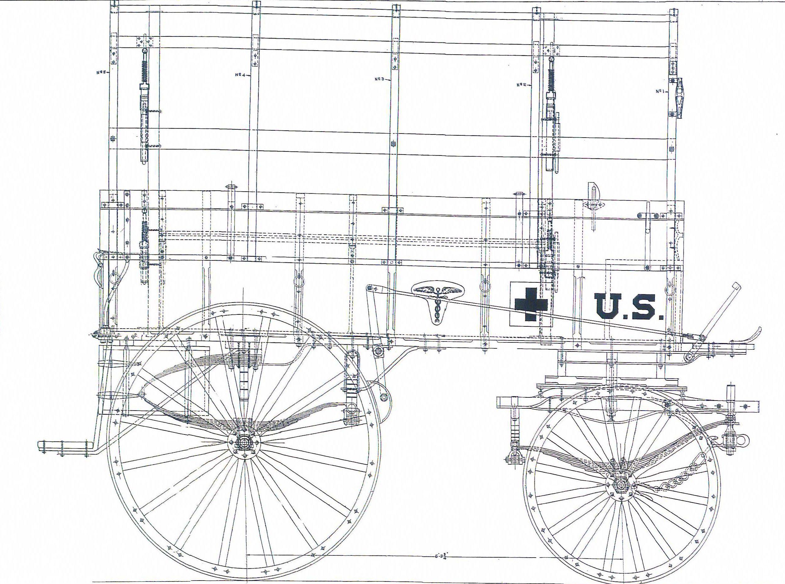 Horse Drawn Wagon Parts Diagram In