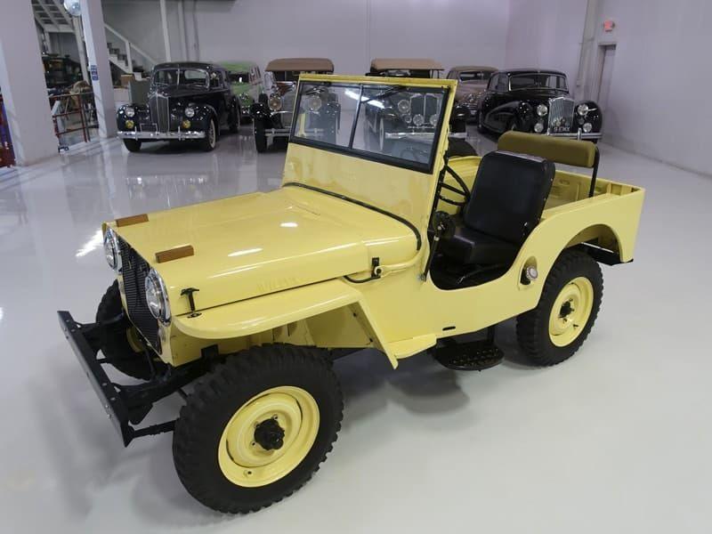 1948 Willys Jeep Cj 2a In 2020 Willys Jeep Jeep Cj Willys
