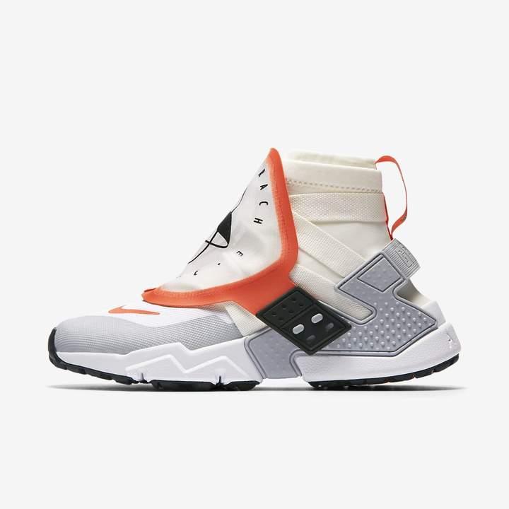 Nike Men's Air Huarache Gripp (Team Orange | White | Wolf Grey)