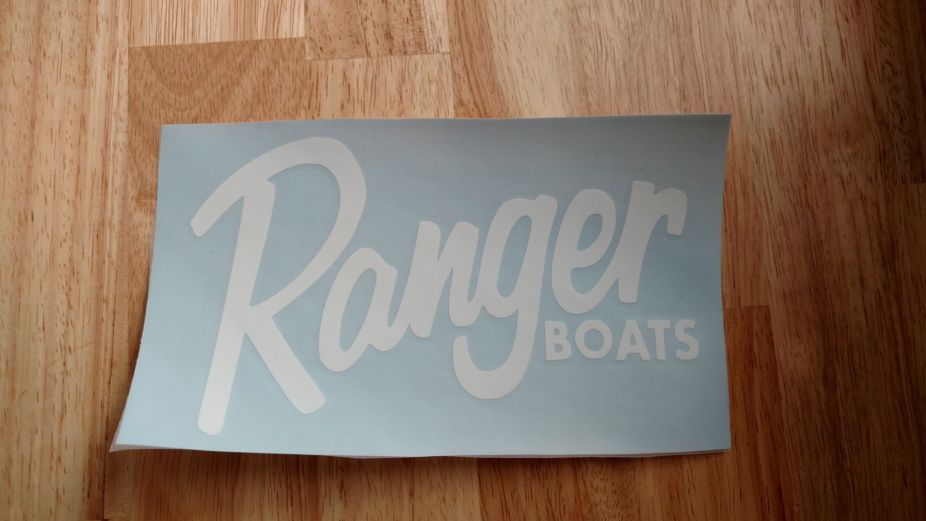 Ranger Boats Vinyl Decal 14 Colors And 11 Sizes To Choose Sticker