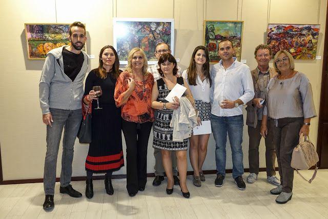 """Vive, que no es poco.: MARÍA AMÉRIGO, inauguró su exposición titulada """"VI..."""