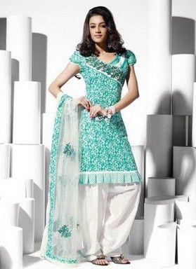 designer cotton salwar suits for girls - Google Search | Punjabi ...