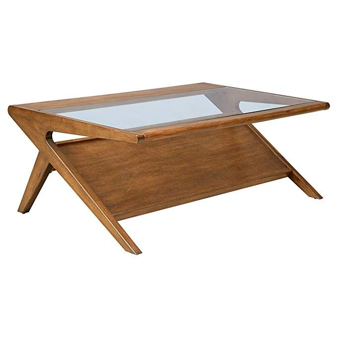Mid Century Gl Top Coffee Table Design Ideas