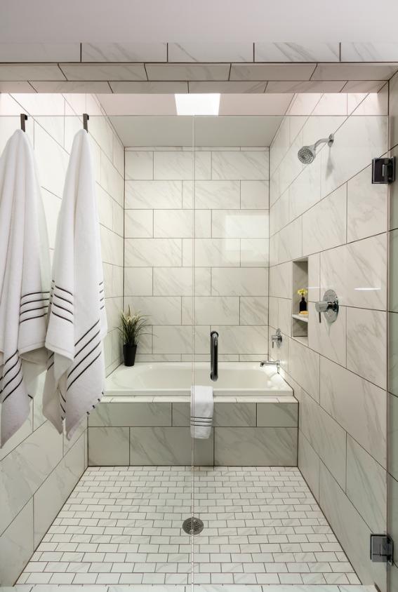 Fl0610141p Daltile Florentine Carrara Wall Tile Google Search Cultured Marble Shower Marble Showers Cultured Marble Shower Walls