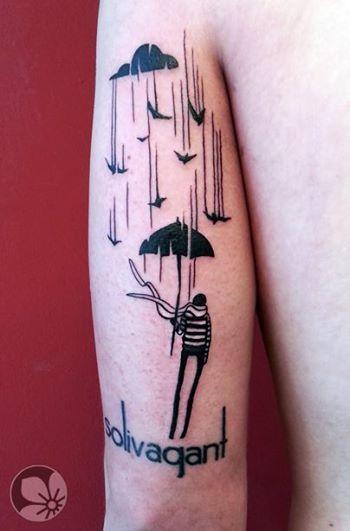 [www.tattoou.co.il :טאטו יו - כל מה שרצית לדעת על קעקועים] --- #rain #tattoo #קעקוע# גשם