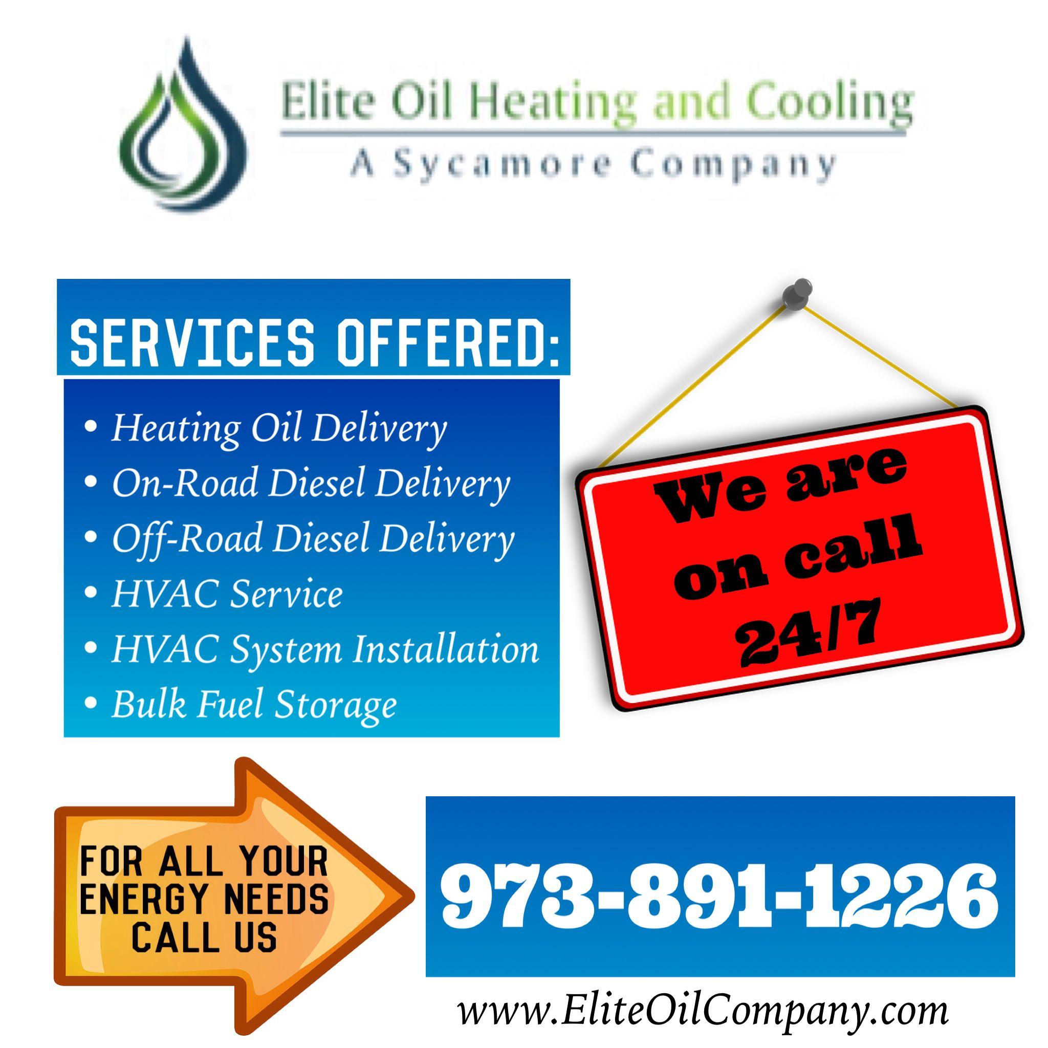 Elite Oil Company Ad Image Heating Oil Hvac Services Hvac System