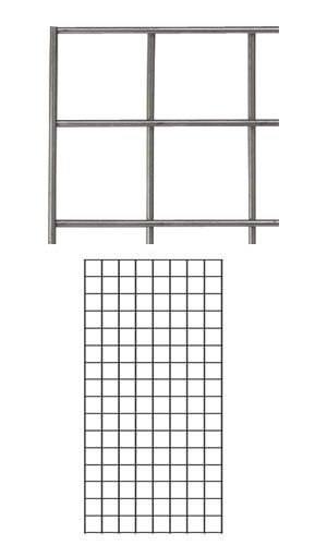 Boutique Raw Steel 2 x 4 foot Wire Grid Panel in 2019