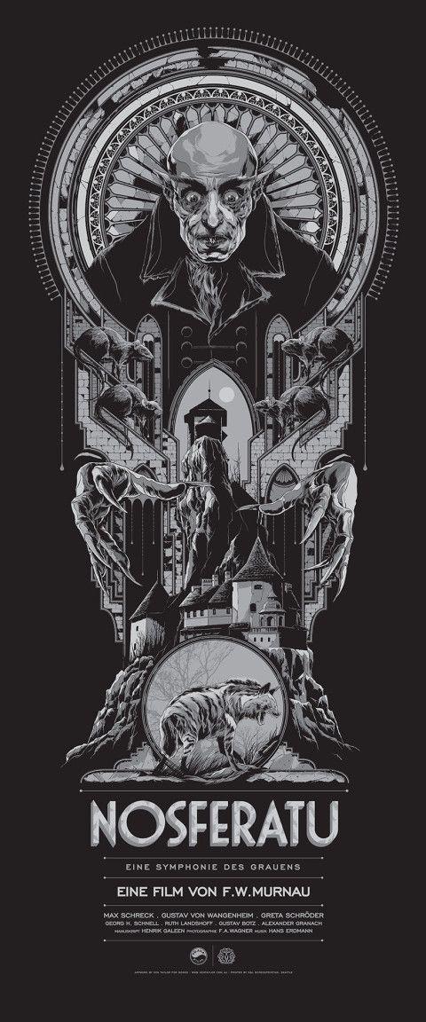 "Affiche originale Mondo ""NOSFERATU"" par Ken Taylor, numérotée. Regular Edition…"