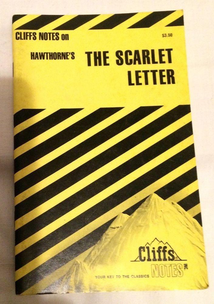 Cliffs Cliff Notes Hawthorne's The Scarlet Letter