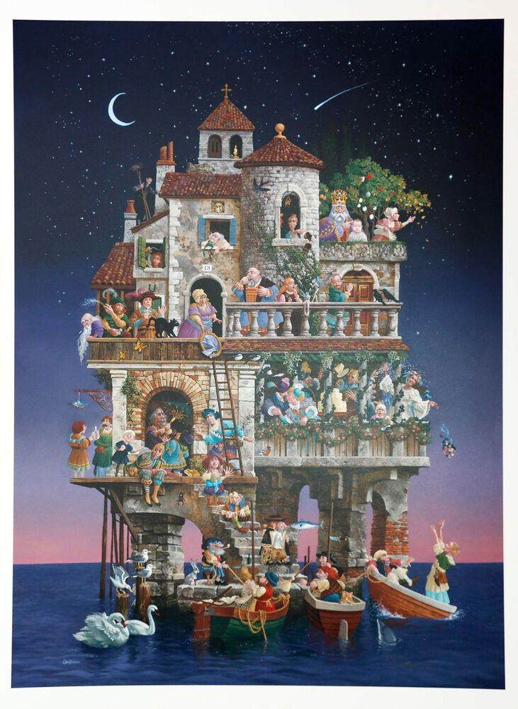 Jigsaw puzzle Fantasy Superstition riddle within a puzzle 1500 piece NEW Made US