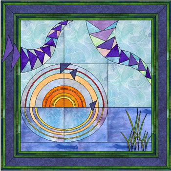 Image detail for -Offers a selection of paper pieced and applique designs. Includes gallery, free designs, and swaps.