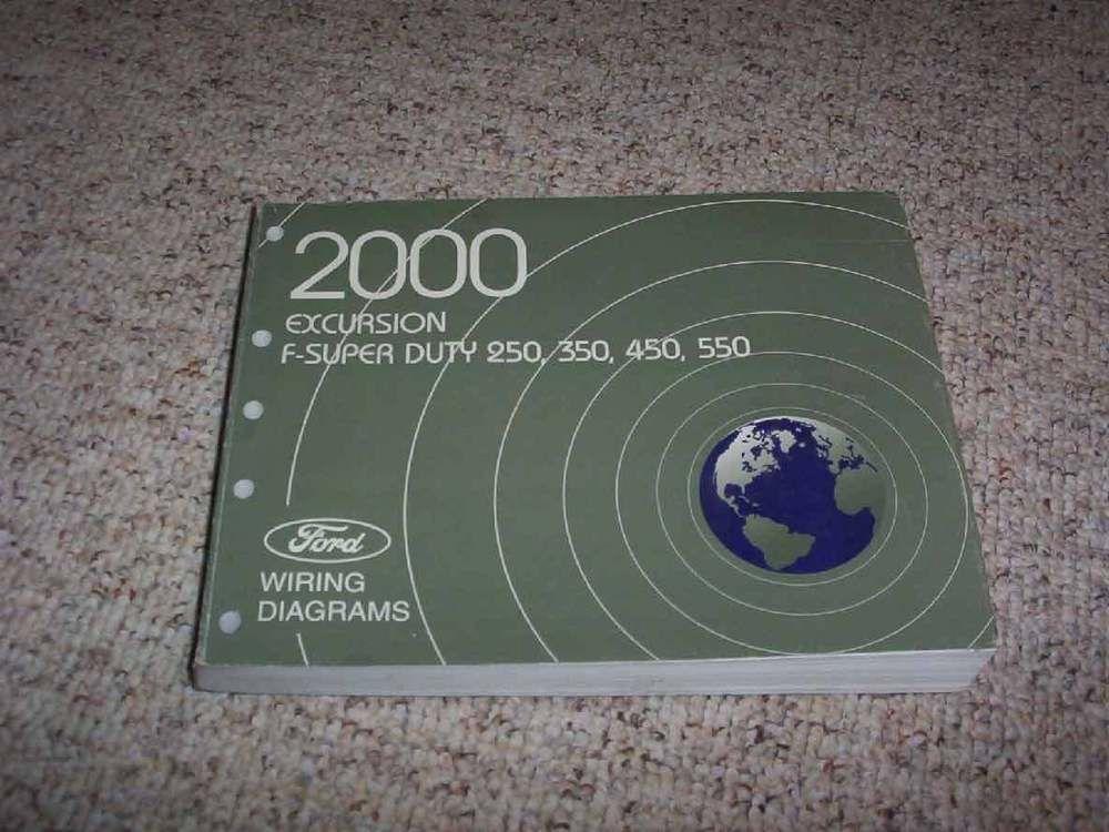 2000 Ford F450 Super Duty Electrical Wiring Diagram Manual Xl Xlt Lariat V8 V10 Electrical Wiring Diagram Ford F250 F250 Super Duty