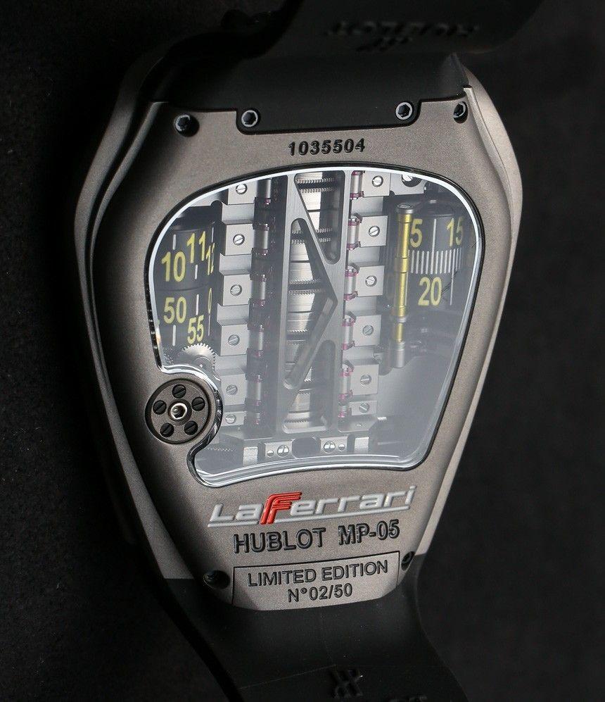 Hublot Mp 05 Laferrari Ferrari Titanium Yellow Watch Hands On Ablogtowatch Yellow Watches Hublot Luxury Watches For Men
