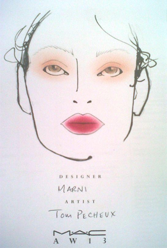 La bouche estompée chez Marni http://www.vogue.fr/beaute/tendance-des-podiums/diaporama/la-fashion-week-de-milan-cote-make-up-1/12015/image/716916#!la-bouche-estompee-chez-marni