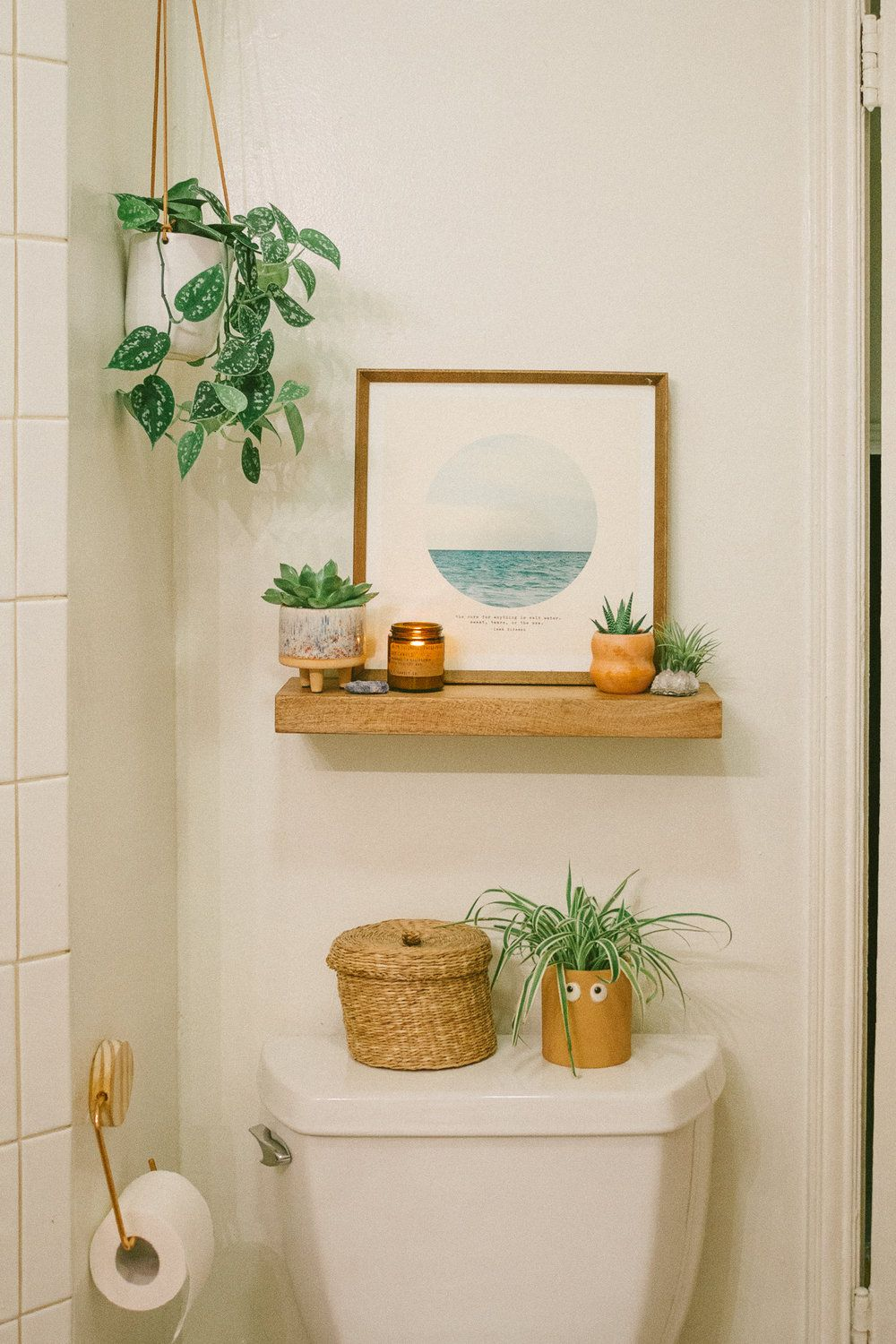 Bathroom Reveal: Before & After #bathroomdecoration