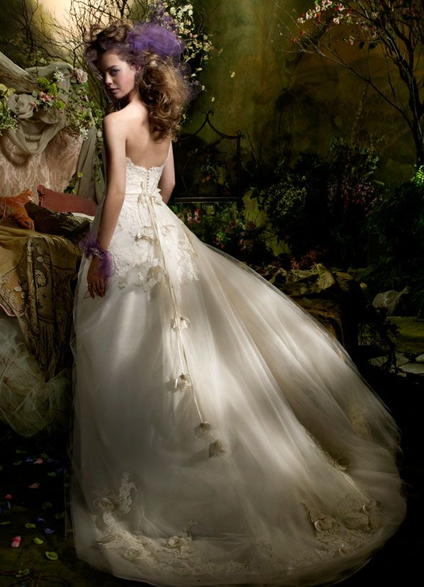 Lazaro Autumn 2009 Bridal Collection With Images Fairy Tale