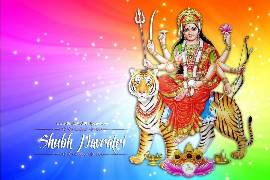 10 Most Beautiful Navratri Wallpapers Hd Happy Navratri Images Navratri Wishes Navratri Images