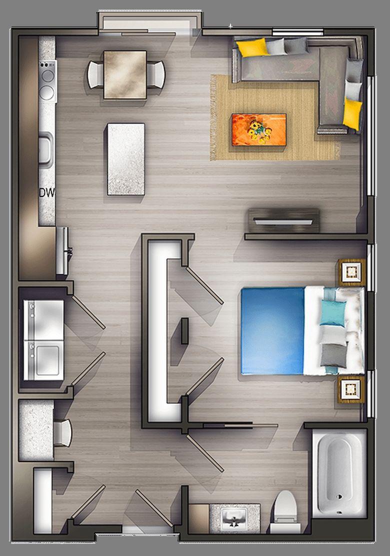 97 Comfortable Apartment Layout Ideas 22 Studio Apartment Floor Plans Apartment Layout Luxury Apartment Interior Design