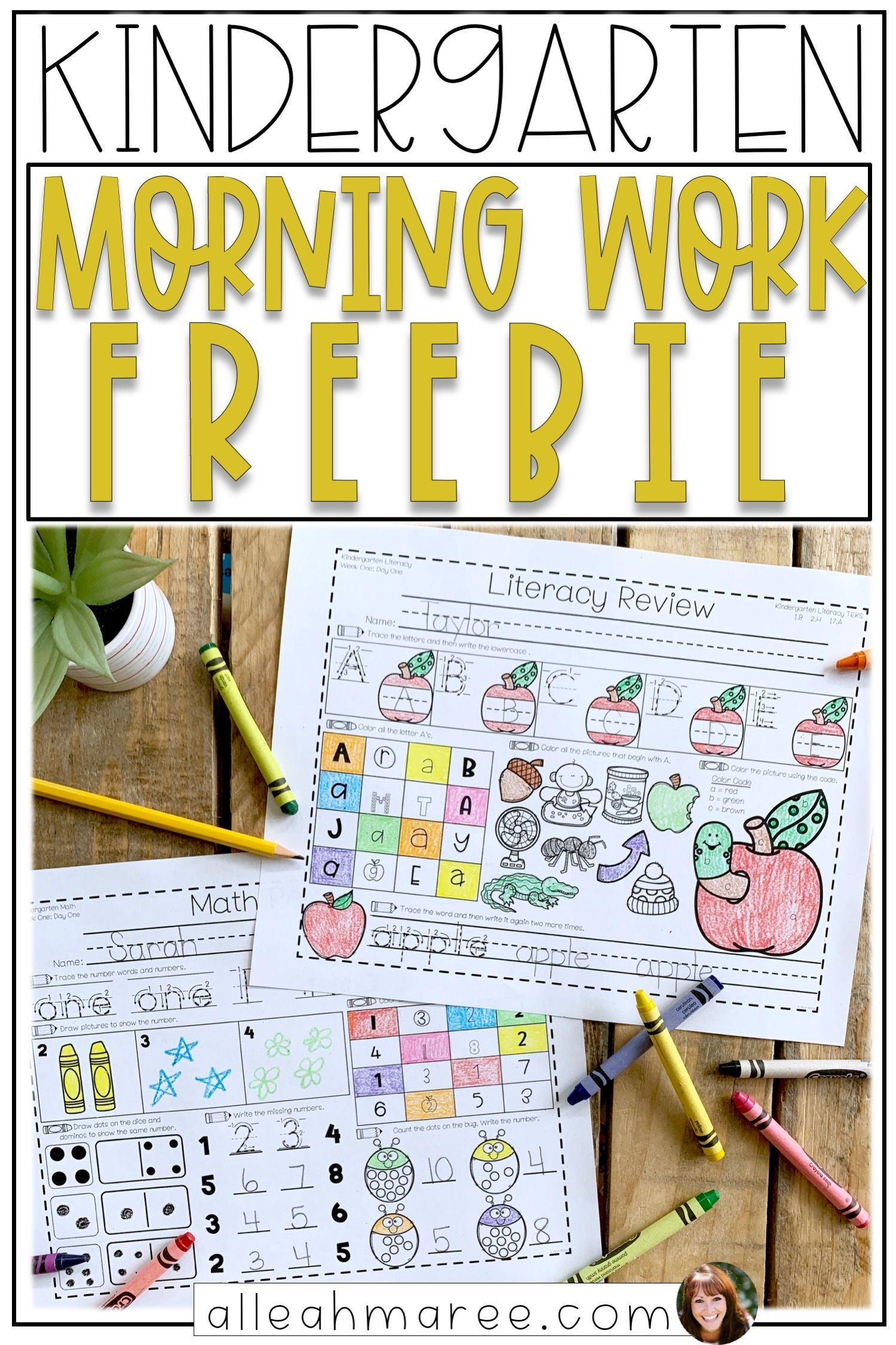 Daily Routine Worksheet Kindergarten