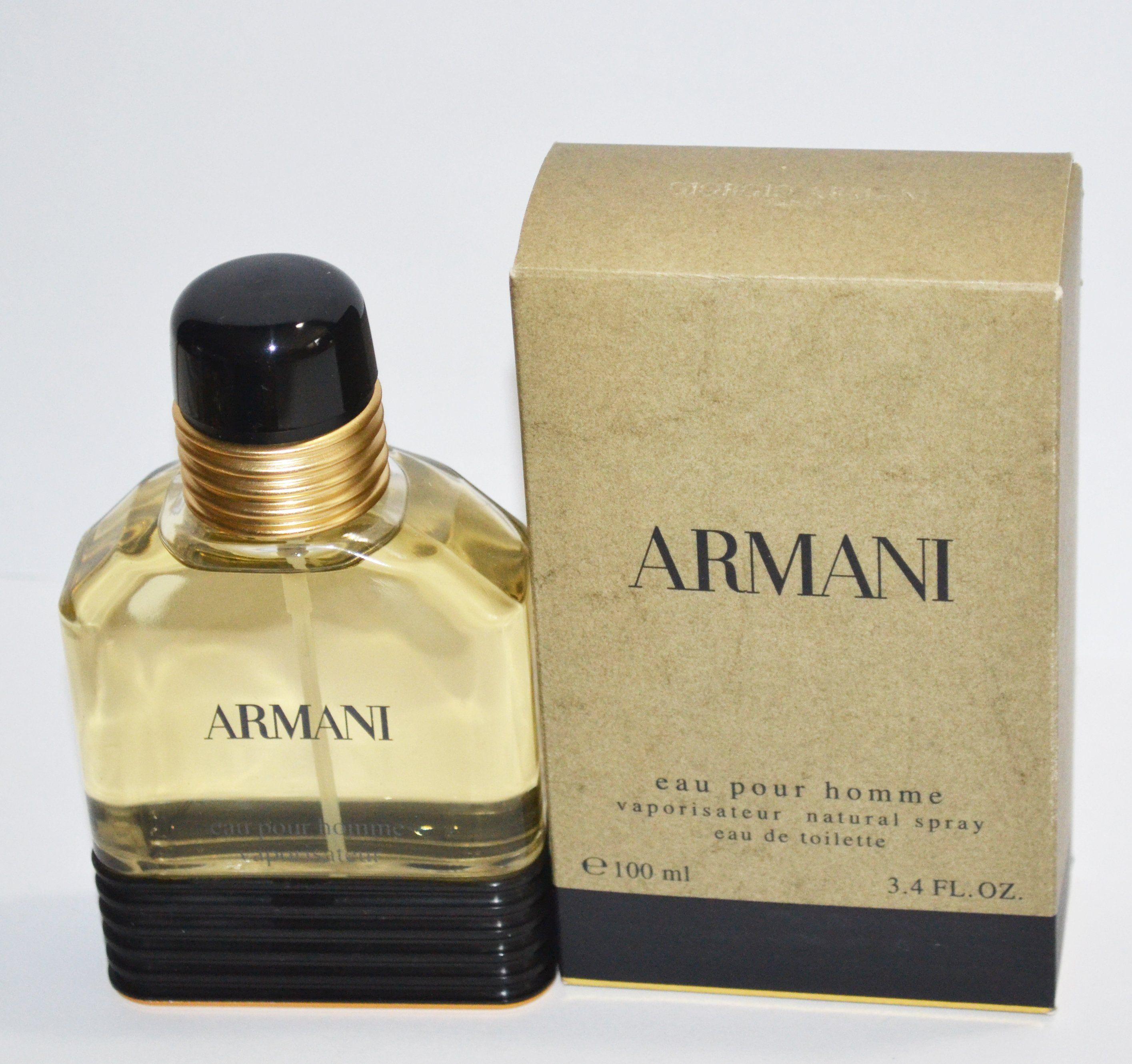 2ee07d27fa Armani Eau Pour Homme Eau De Toilette Natural Spray - 2004 ...
