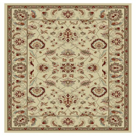 Concord Global Trading Chester Collection Oushak Area Rug Beige