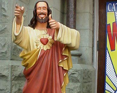 Catholicism Wow Buddy Christ Dogma Jesus Images