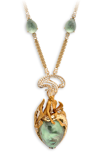 Magerit - Atlantis Collection: Necklace Sirena Ola