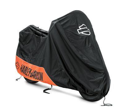 Orange Motorcycle Cover Waterproof For Harley Davidson Street Glide Touring XXL