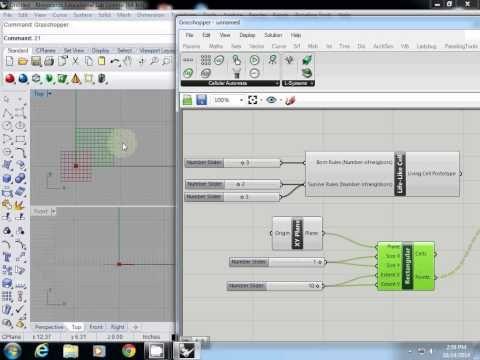 Grasshopper Tutorial Cellular Automata Preperation Youtube Generative Design Complex Systems Tutorial